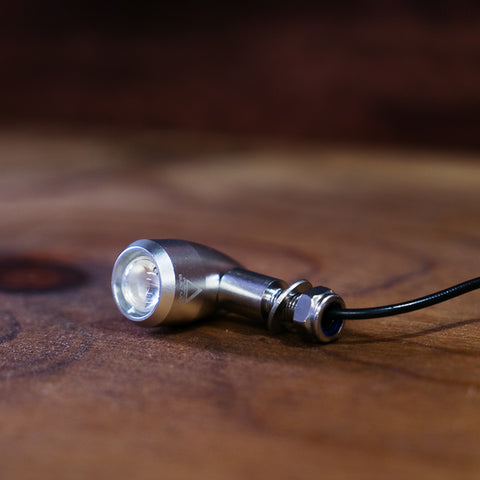 Hollow tip LED Indicators - SILVER