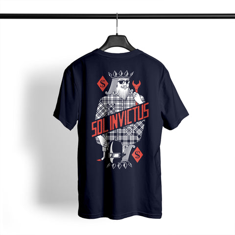 Sol Build King Tee - Navy