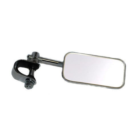 Mirror - rectangular clamp-on