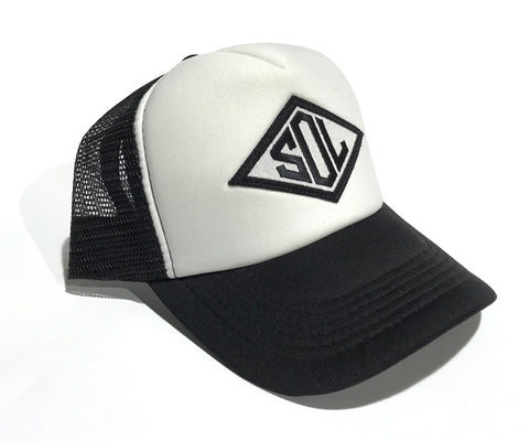 Sol Trucker Cap Diamond Logo