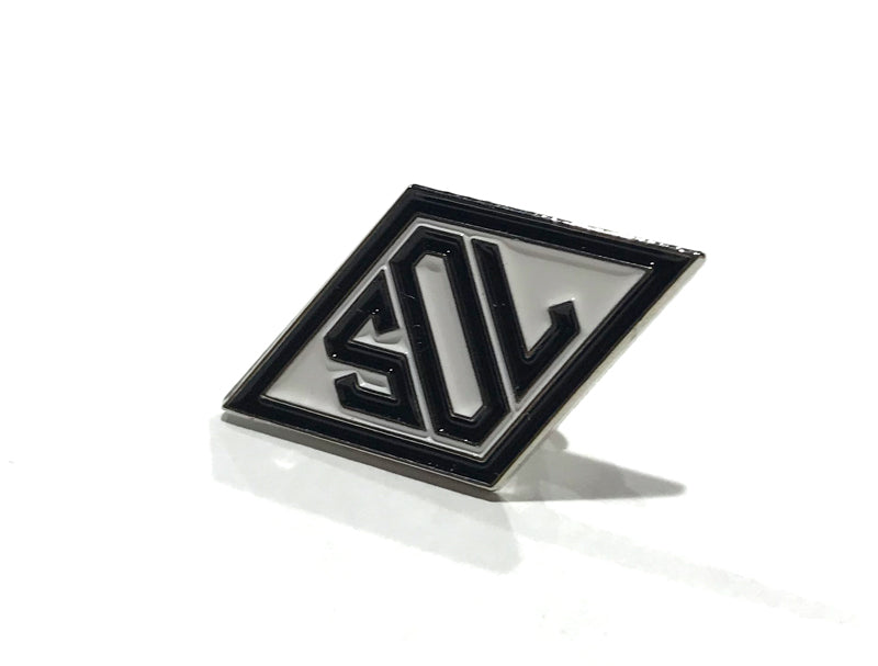 Sol Invictus Diamond Logo Pin