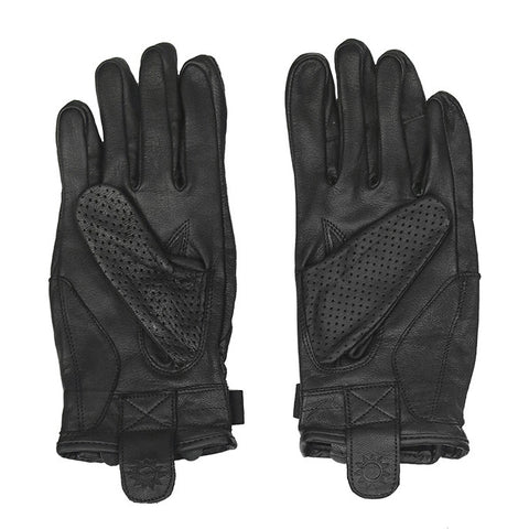 Sol Armoured Gloves - Black