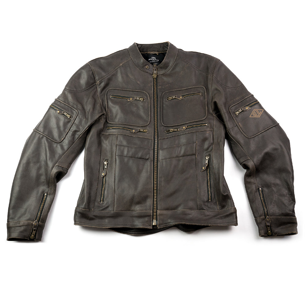 Sol Verona Leather Riding Jacket