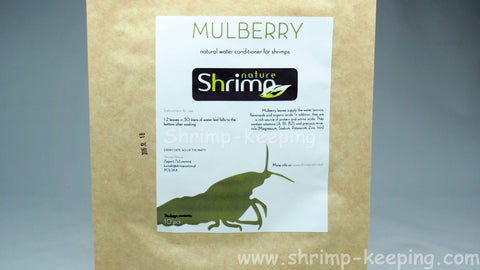 shrimp nature mulberry leaves