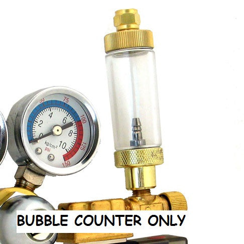BRASS BUBBLE COUNTER