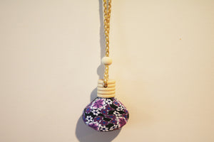 Car Diffuser - Purple floral