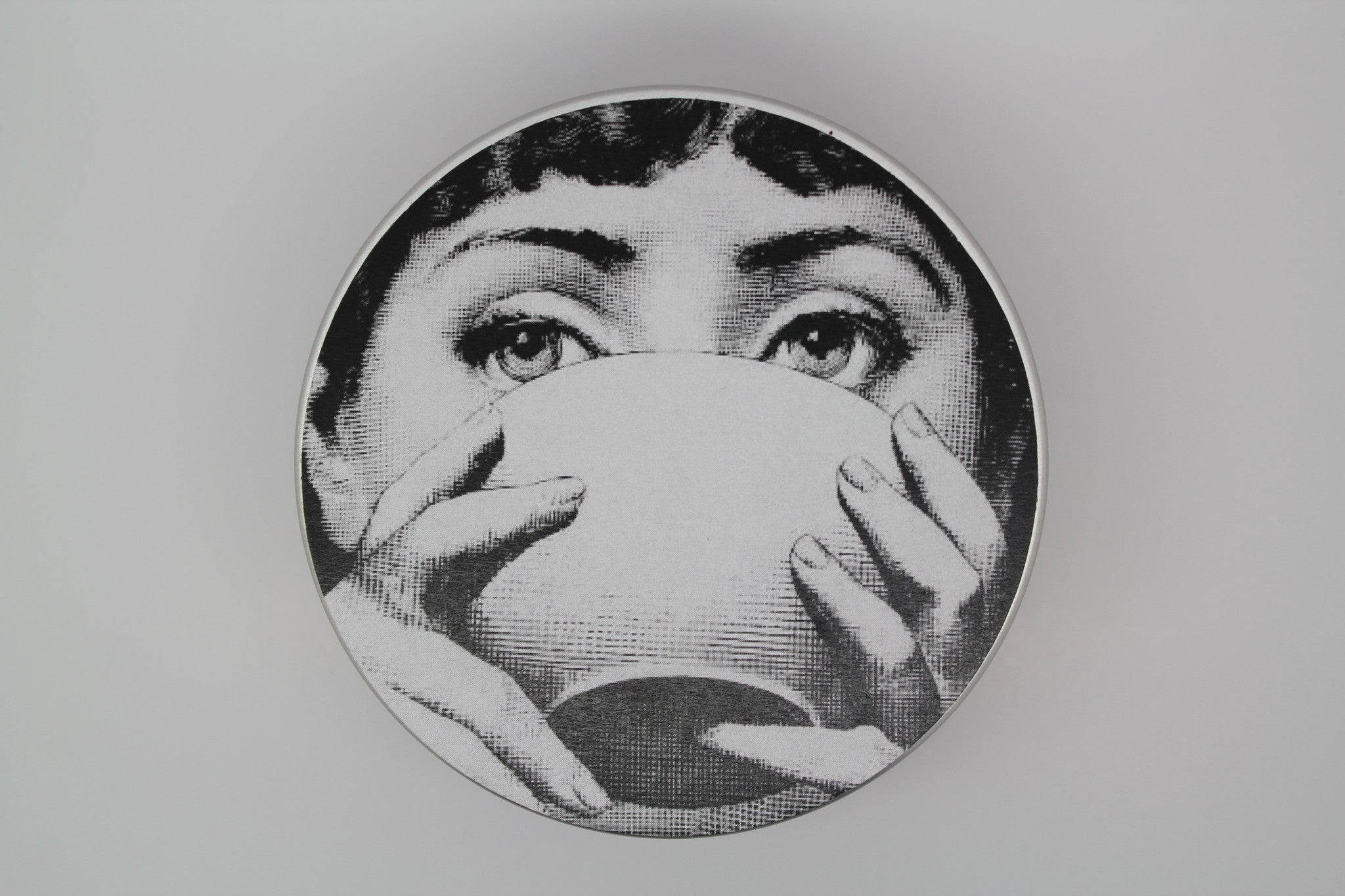 Fornasetti Tin - Bulgarian Rose