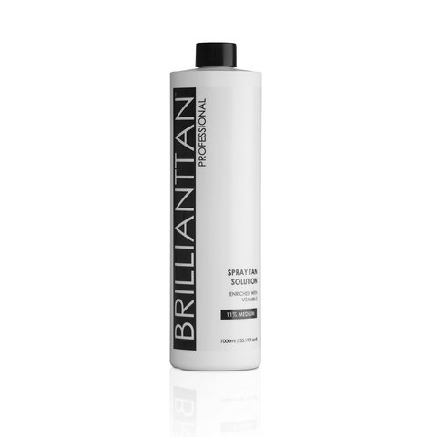 11% Medium Professional Spray Tan Solution 1L