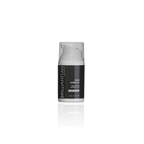 SPF 40 Antioxidant Enriched Sunblock - UVA & UVB Protection