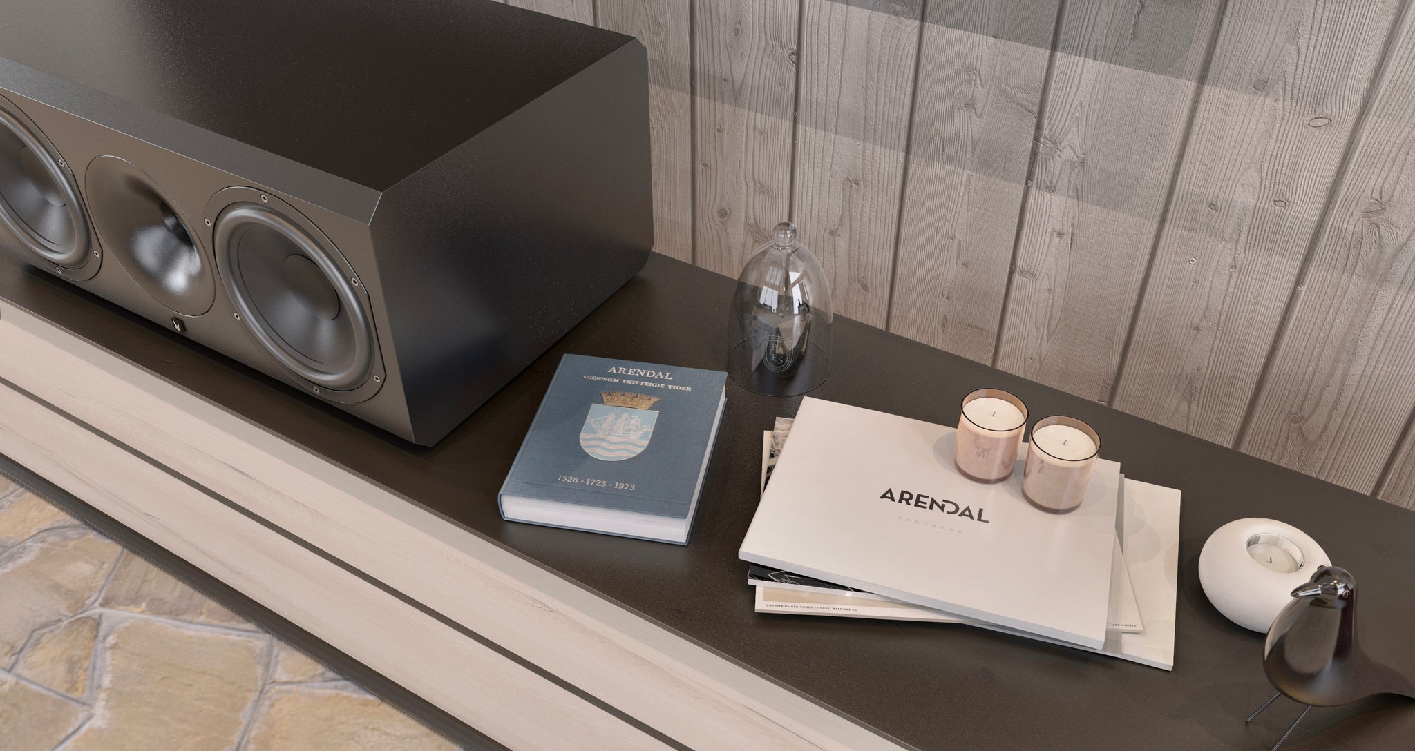 Arendal Sound Cabin Camera Manual Guide (Warranty Page)