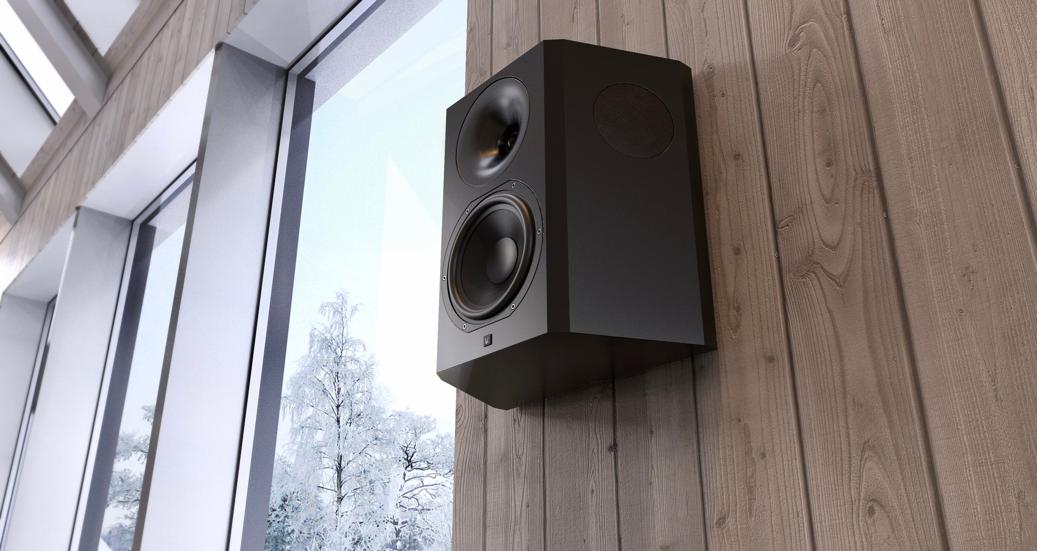 Arendal Sound 1723 Series Speaker on Cabin Wall (Warranty Page)