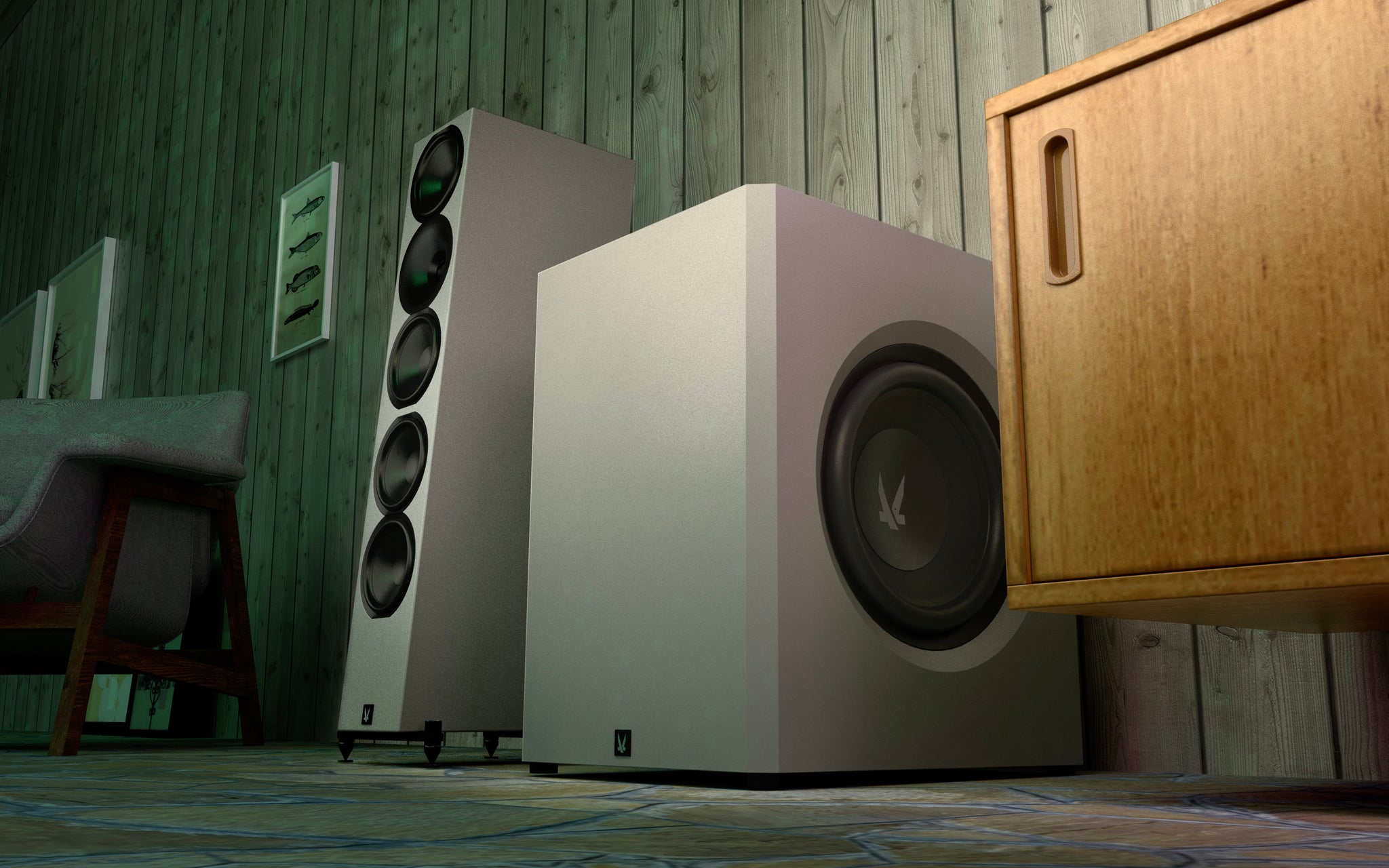 Arendal Sound 1961 Lifestyle Subwoofer 1V (Shipping & Delivery Page)