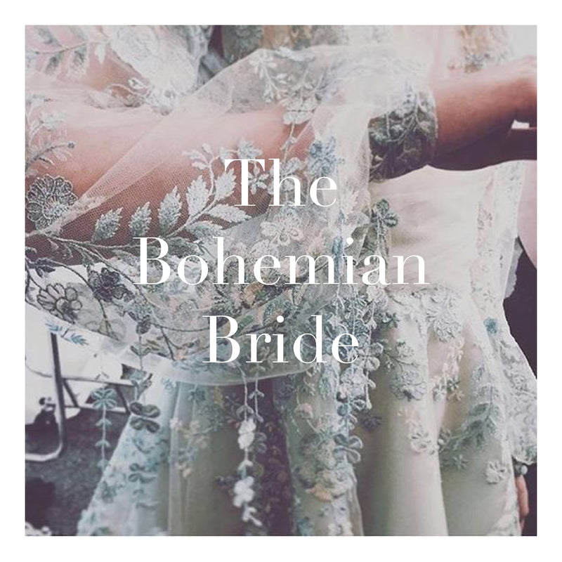 Bohemian weddings - The Bride and her Dress