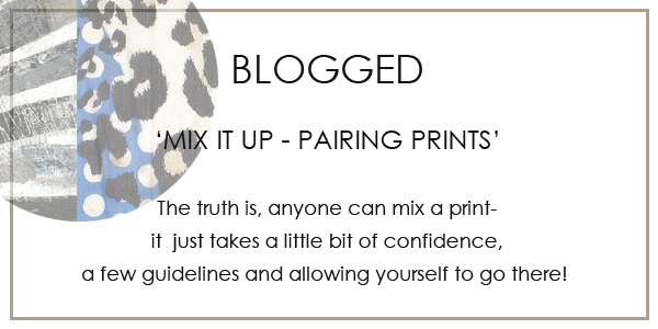 Mix It Up - Pairing Prints
