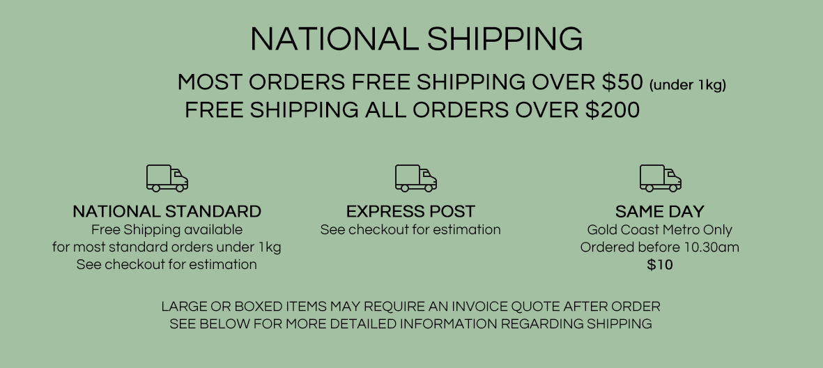 Domestic Shipping Info
