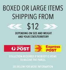 LARGE POSTAGE ITEMS