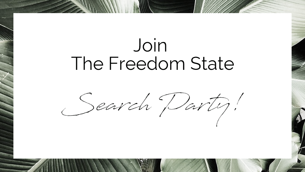 Join The Freedom State Search Party