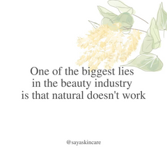 Beauty Industry Lies