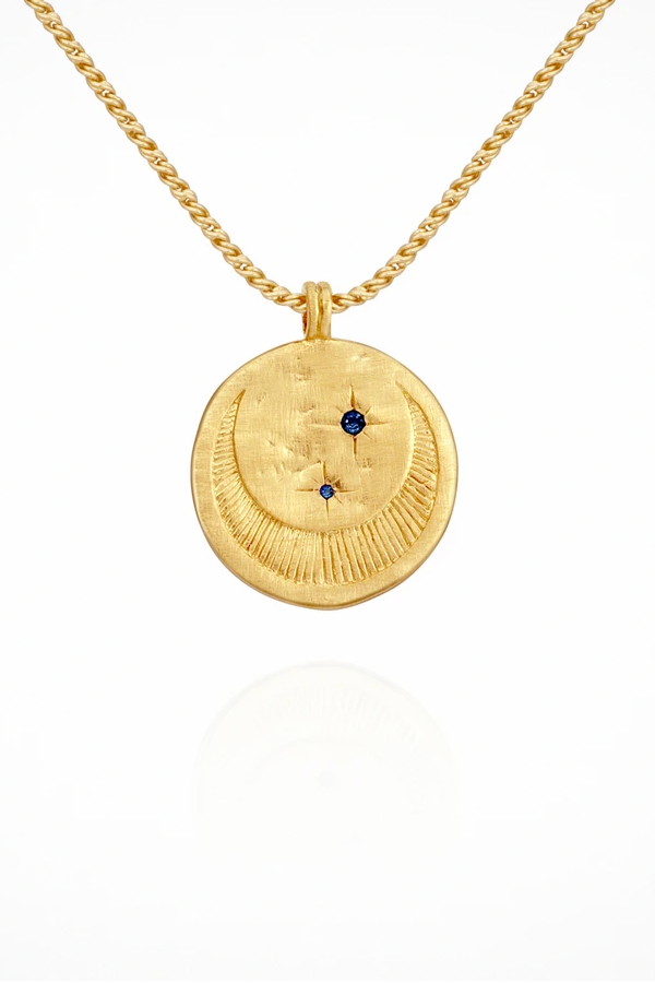 Temple Of The Sun | Celeste Necklace - Gold