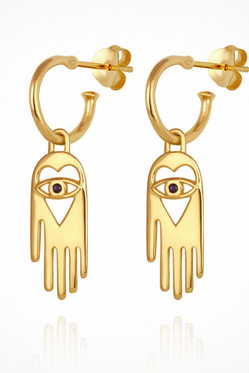 Temple Of The Sun | Tyas Earrings - Gold