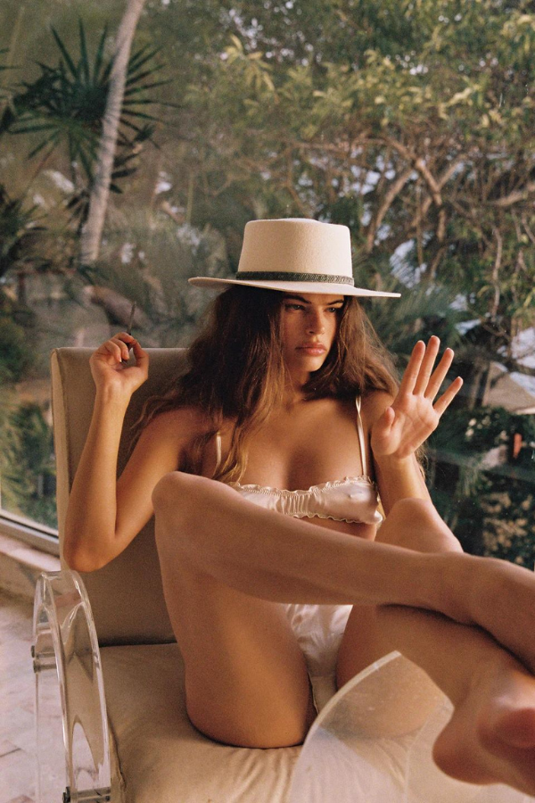 Arnhem | Audrey Mini Skirt - Pink Plum