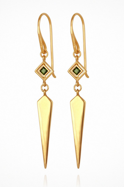 Temple Of The Sun | Rhya Earrings - Gold