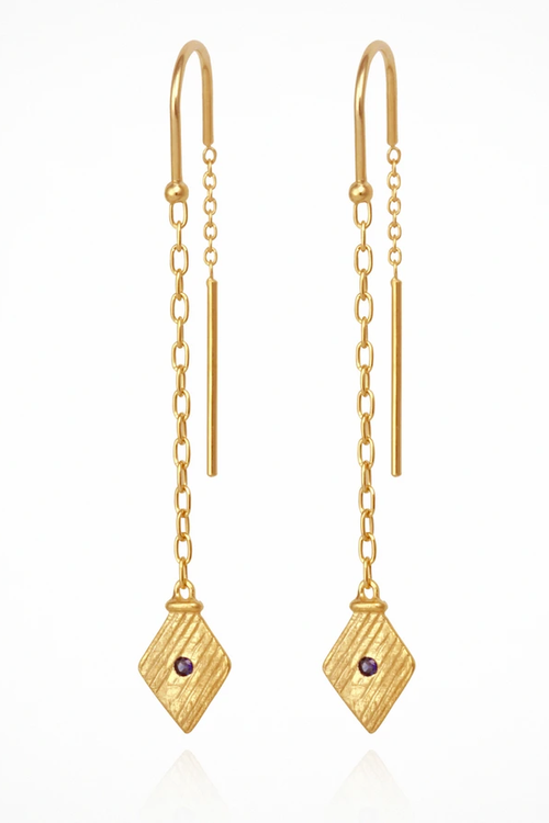 Inka Earrings - Gold