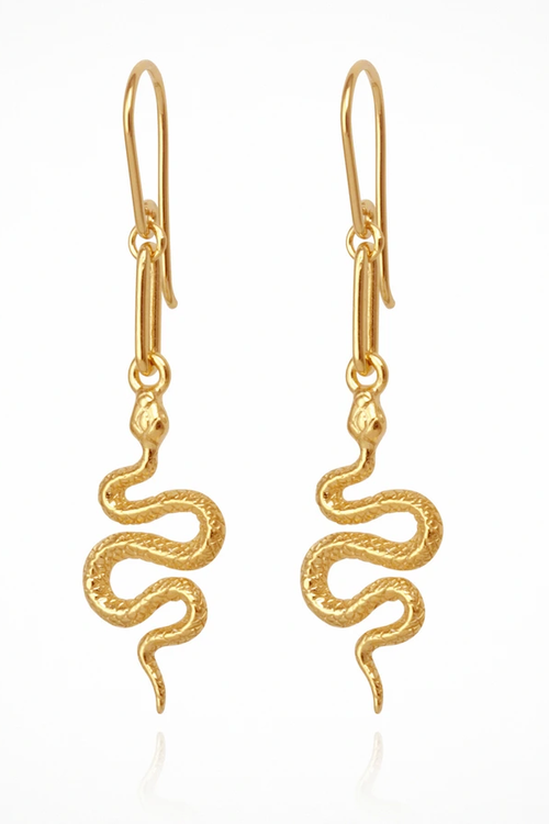 Temple Of The Sun | Camila Earrings - Gold