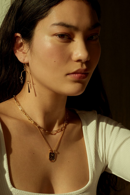 Temple Of The Sun | Elysia Necklace - Gold