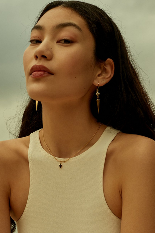 Temple Of The Sun | Tulli Necklace - Gold