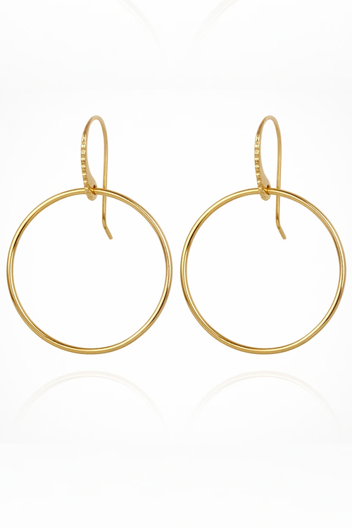 Temple Of The Sun | Hydra Earrings - Gold