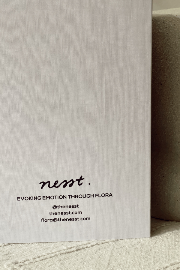 Nesst | Thank You - Greeting Card