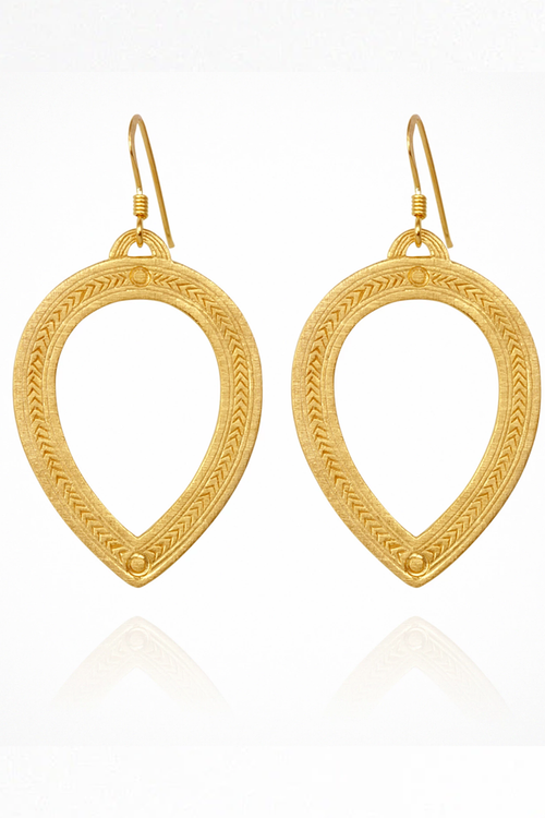 Padma Earrings - Gold
