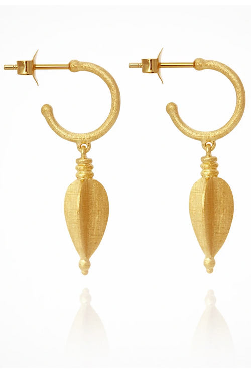 Temple of The Sun | Alena Earrings - Gold