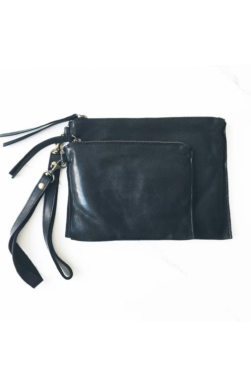 Flat Pouch Large - Black