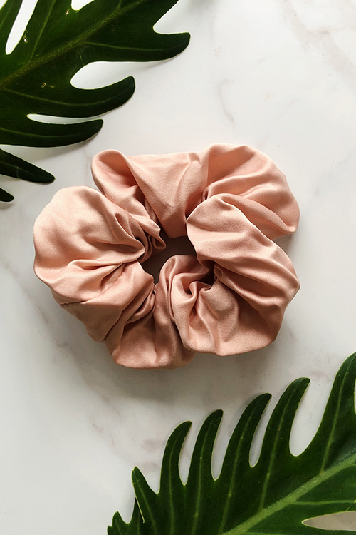 Nude Sleep Scrunchie