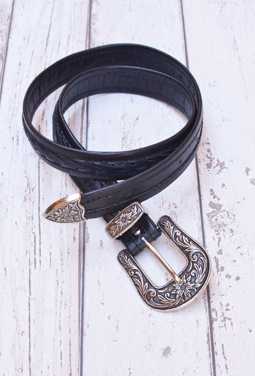 The Rodeo Belt - Black - The Freedom State  - 1
