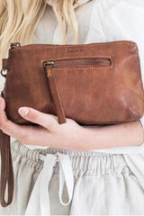 Essentials Pouch Small- Cognac