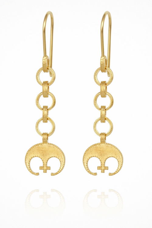 Timo Earrings - Gold