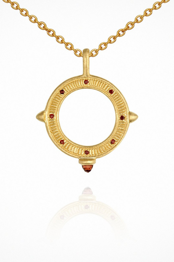 Temple Of The Sun | Solice Necklace - Gold