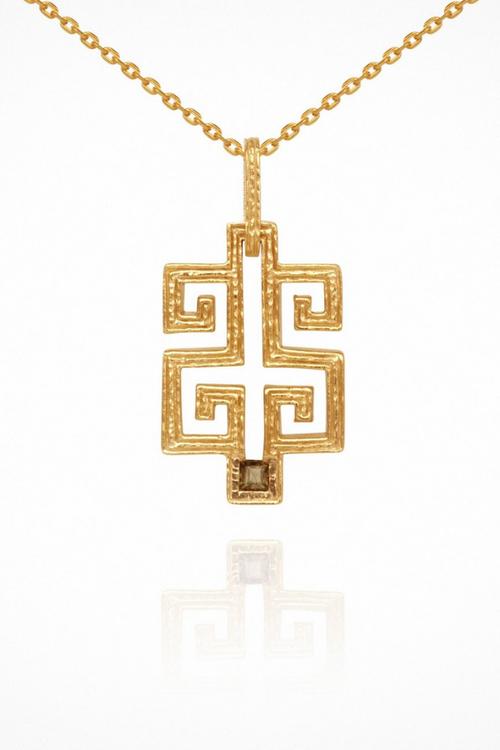 Temple Of The Sun | Delphi Necklace - Gold