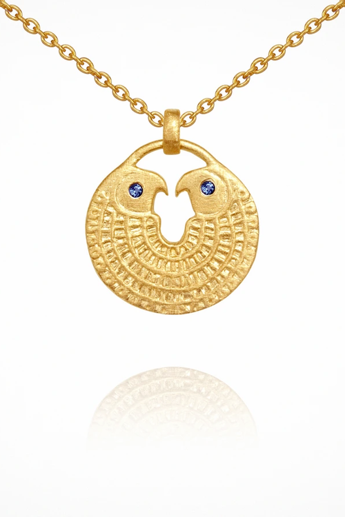 Falcon Necklace - Gold