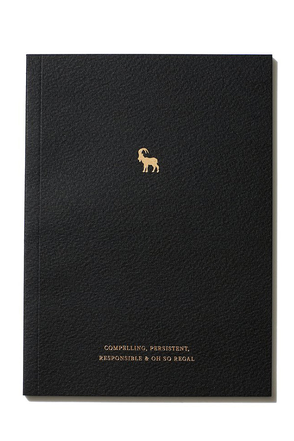 Capricorn Zodiac Notebook