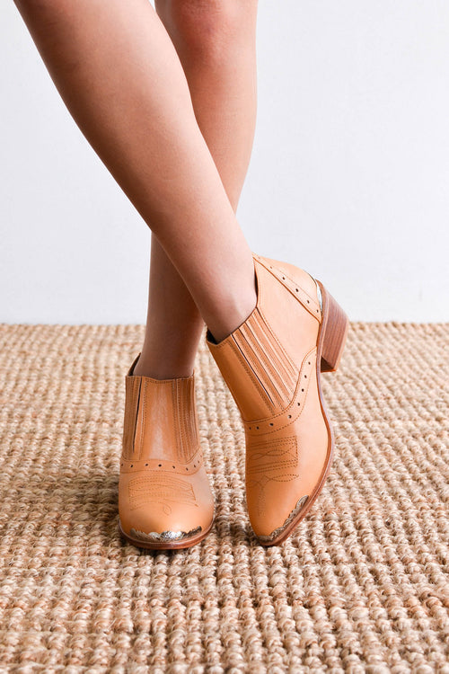 Chicko Boots - Tan
