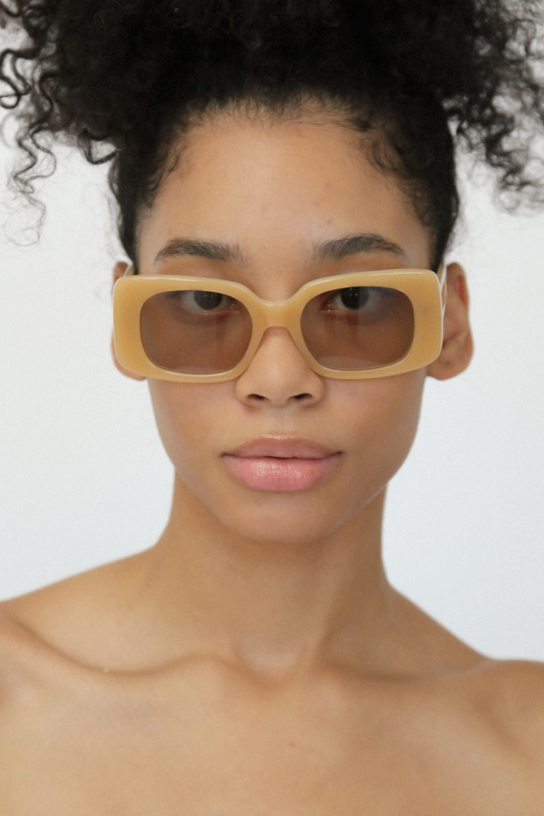 Lu Goldie | Coco Sunglasses - Honey