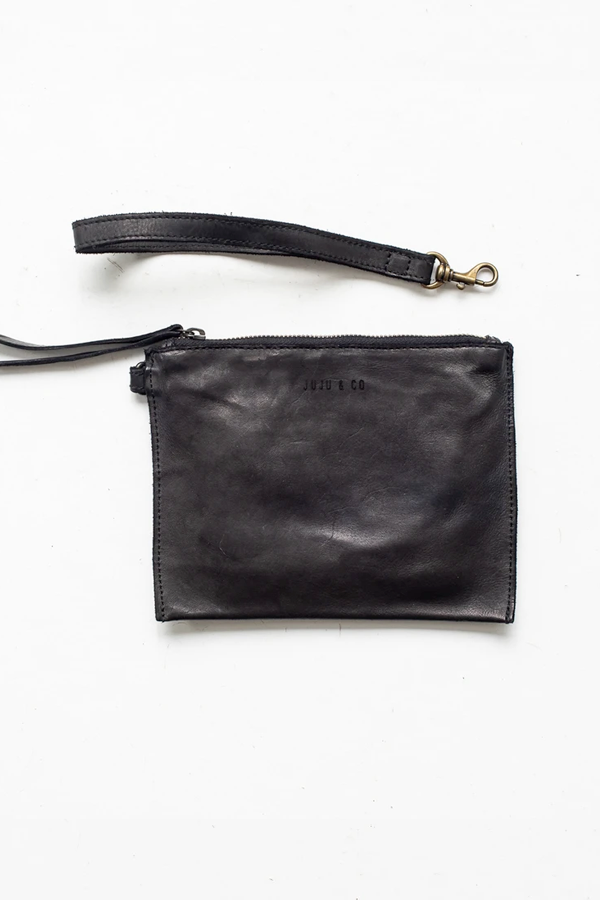 Juju & Co | Flat Pouch Small - Black