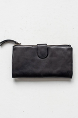Capri Wallet Large - Black