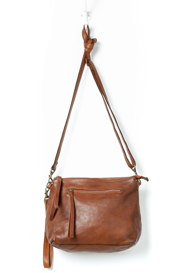Juju & Co | Essentials Pouch Large- Cognac