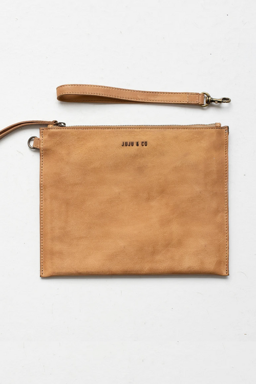 Flat Pouch Large - Natural