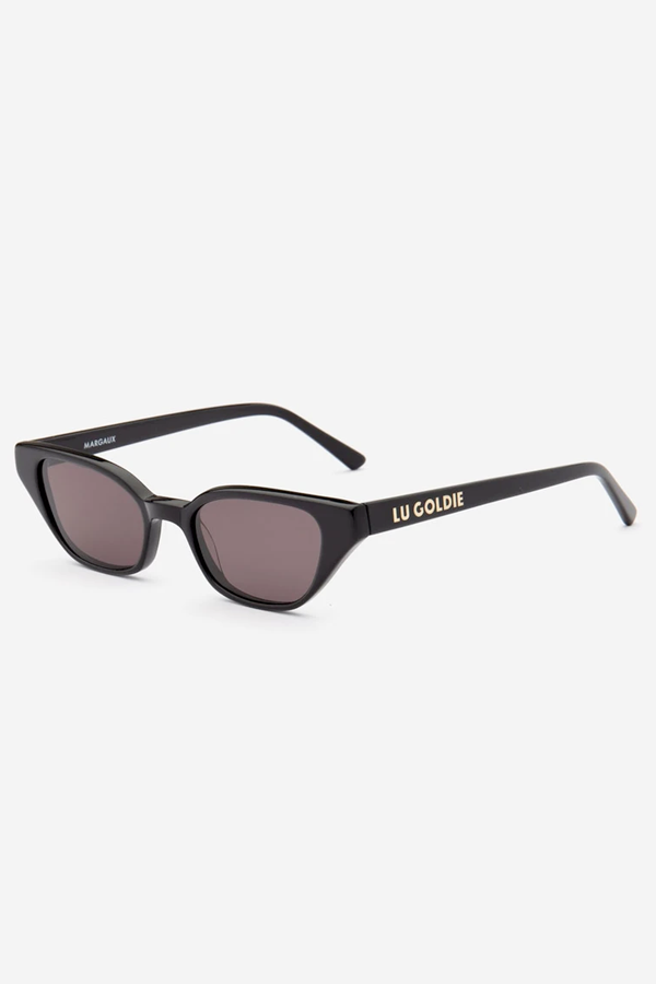 Lu Goldie | Margaux Sunglasses - Black
